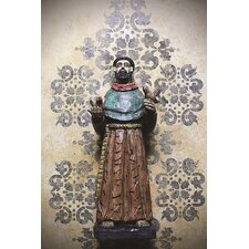 Resin Antique St. Francis Statue