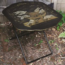Metal Screen Shaped Folding Table