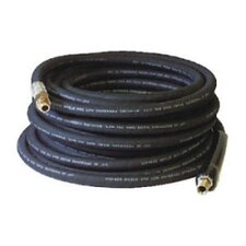 "50-Foot (3/8"") 3000 PSI Rubber Pressure Washer Hose"