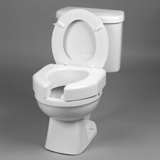 Basic Open Front Elevated Toilet Seat