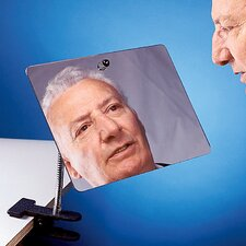 Clamp On and Adjustable Speech Mirror