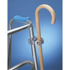 <strong>Ableware</strong> Cane Holder for Walkers and Wheelchairs