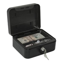 Convertible Steel Cash and Key Box