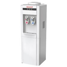 "39"" Freestanding Water Cooler Dispenser with Hot and Cold Temperatures"