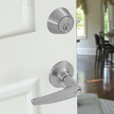 Wave 2 Piece Lever Privacy Door Lock Set