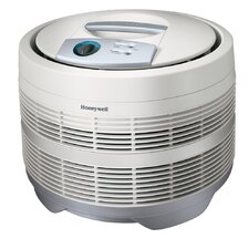 "<strong>Honeywell</strong> Air Purifier,3-Speeds,225 Sq Ft. Cap.,18""x18""x15-1/8"",White"