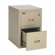 The Honeywell Safe 2-Drawer Fire Proof Pin Key Lock  Filing Cabinet