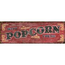 <strong>Vintage Signs</strong> Red Horse Popcorn Wall Art