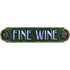 <strong>Vintage Signs</strong> Red Horse Fine Wine Wall Art
