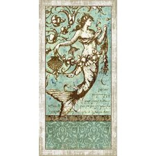 Drift Mermaid 1 Wall Art by Suzanne Nicoll Graphic Art Plaque