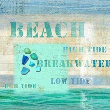 <strong>Vintage Signs</strong> Beach Wall Art by Suzanne Nicoll