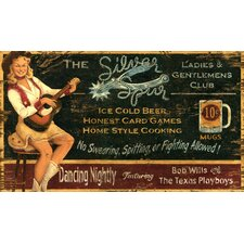 <strong>Vintage Signs</strong> Silver Spur Vintage Sign