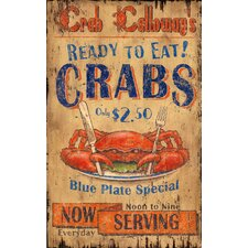 Crab Calloway Vintage Sign