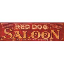 <strong>Vintage Signs</strong> Red Dog Vintage Sign