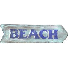 Vintage 'Beach' Wall Décor