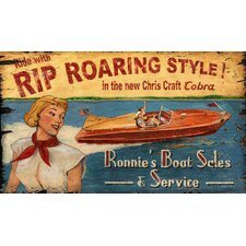 Chris Craft Vintage Advertisement Plaque