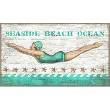 Susanne Nicoll Diving Girl Wall Art