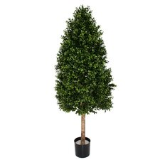Artificial  Boxwood Square Cone Topiary