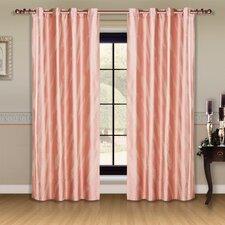 Dolce Mela Capri Cotton Grommet Drape Curtain Panel