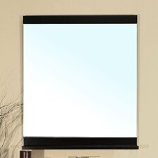 "<strong>Bellaterra Home</strong> Chapman 31.6"" H x 27.6"" W Bathroom Mirror"