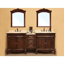 "Elbridge 82.7"" Double Vanity Set"
