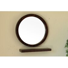 <strong>Bellaterra Home</strong> Huntington Round Mirror