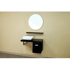 "<strong>Bellaterra Home</strong> Belknap 35.4"" Single Vanity Set"