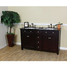 "<strong>Bellaterra Home</strong> Delaney 62"" Double Vanity Set"