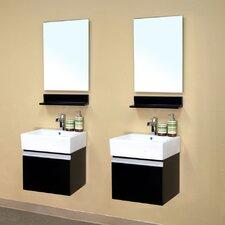 "Mason 41"" Double Bathroom Vanity Set"