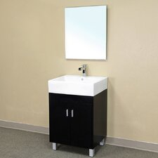 "<strong>Bellaterra Home</strong> Graham 22.8"" Single Vanity Set"