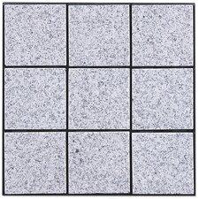 "Granite 11.75"" x 11.75"" Interlocking Deck Tiles in Bright Gray"