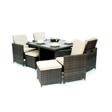 9 Piece Cube Dining Set