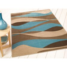 Sincerity Modern Blue Rug