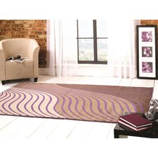 Sincerity Modern Beige / Purple Rug