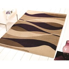 Sincerity Modern Purple Rug
