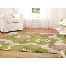 Sincerity Modern Green Rug