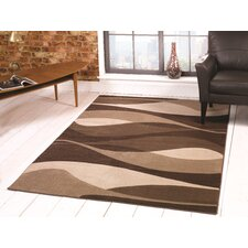Sincerity Modern Brown Rug
