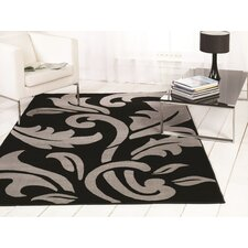 Sincerity Modern Black / Silver Rug