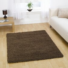 Nordic Cariboo Brown Shag Contemporary Rug