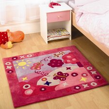 <strong>Home Essence</strong> Kiddy Play Summertime Girl Children's Rug