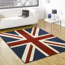 Retro Funky Buckingham Multi Novelty Rug