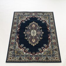 Element Lancaster Navy Contemporary Rug