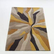Infinite Ochre Tufted Rug