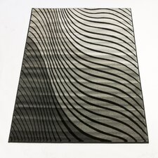 Sincerity Modern Grey / Black Rug