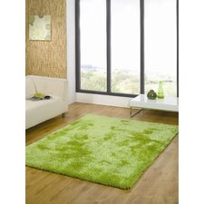 Starlet Lime Green Twilight Shag Rug