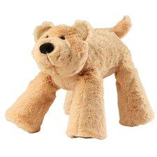 Big Paws Bear Dog Toy in Tan