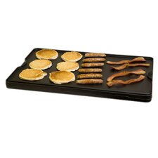 "24"" Reversible Cast Iron Grill / Griddle"