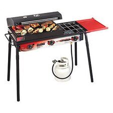 Big Gas Grill 3 Burner Cooking Range
