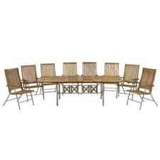 Livorno 9 Piece Rectangular Dining Set