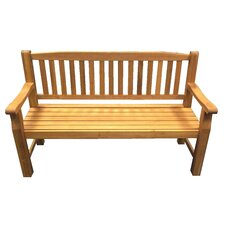 Turnbury 3 Seater Bench in Natural